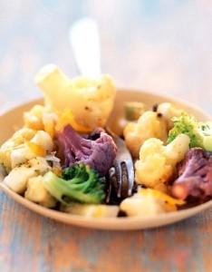 Salata od cvjetače i brokule