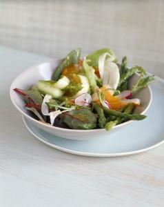 Proljetne šparoge na salatu