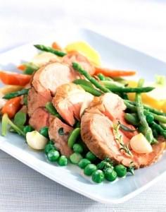 Kuhana teletina s povrćem