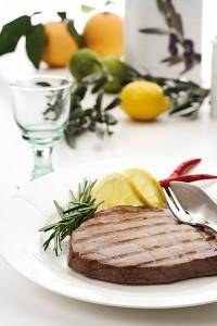 Tuna s gradela